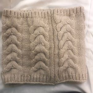 Chunky Knit Cowl Scarf